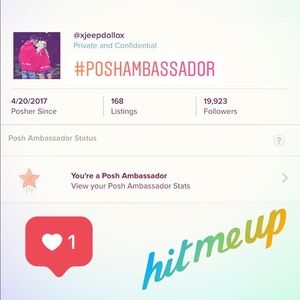 ‼️MEET THE POSHER‼️